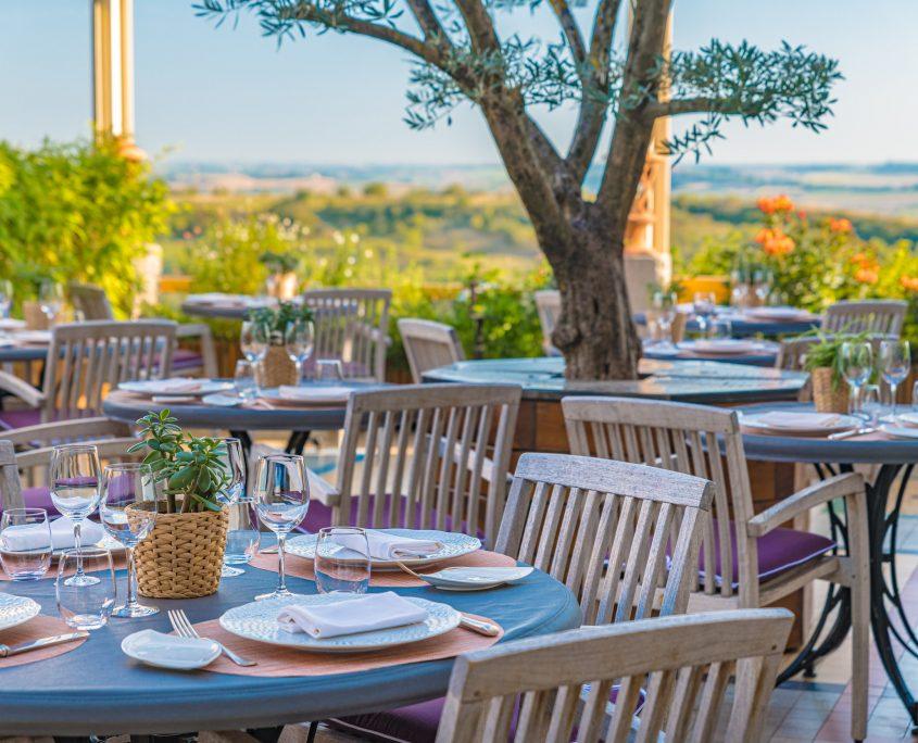 terrasse restaurant lauragais