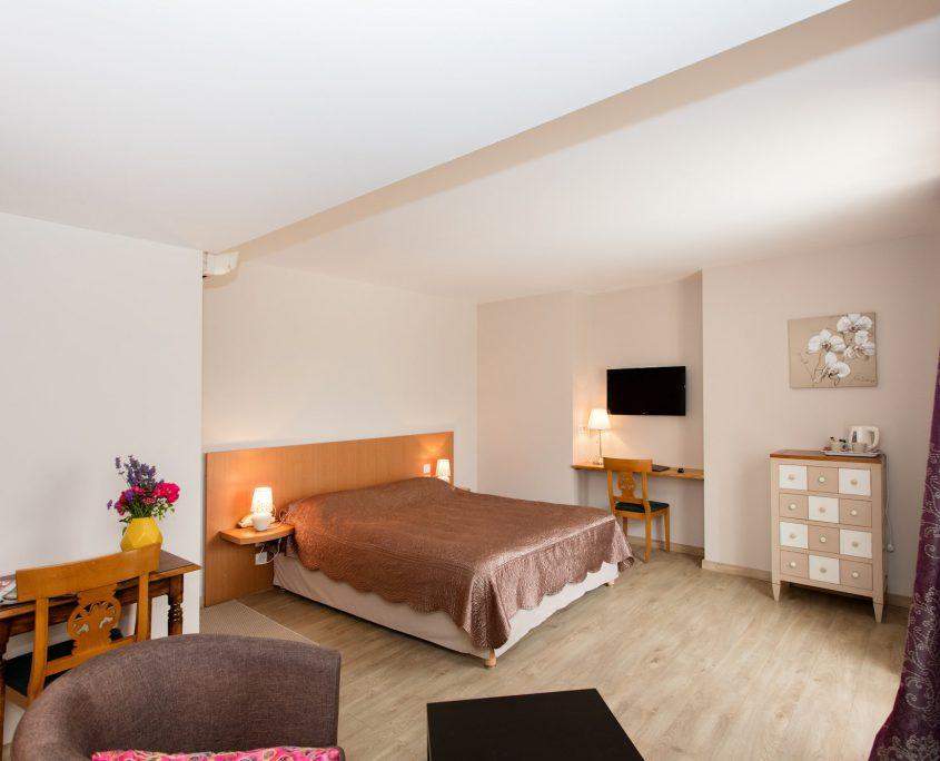 Auberge du Poids public Hôtel chambre supérieure Revel Toulouse Castres Carcassonne